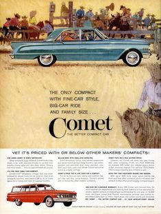 Other Collectible Ads Bright 1961 Red Mercury Monterey Car Exciting Styling Room Economy Pep Ad Elegant In Smell Collectibles