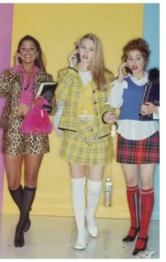 Clueless is one of my favorite movies. But most of the fashion can stay in the 90's.