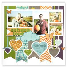 Autumn Love - Scrapbook.com