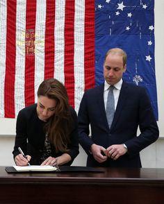 Kate Middleton Prince William Pay Respects Orlando Shooting | POPSUGAR Celebrity