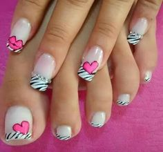 The 100 Trending Early Spring Nails Art Designs And colors are so perfect for Hope they can inspire you and read the article to get the gallery. Sexy Nail Art, Sexy Nails, Cute Nail Art, Love Nails, Pretty Nails, Heart Nail Art, Heart Nails, Spring Nail Art, Spring Nails