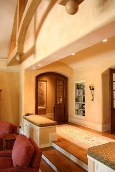 Step Down To Family Room Design Ideas, Pictures, Remodel ...