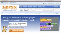 Programación Scratch Website