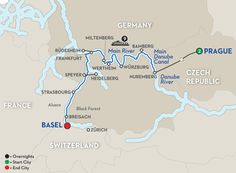 Christmastime Rive Cruise Prague to Basel – Westbound