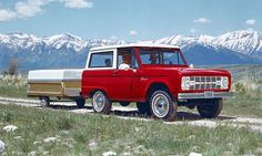 Ford offers body shells for those who want to restore the classic '60s Bronco