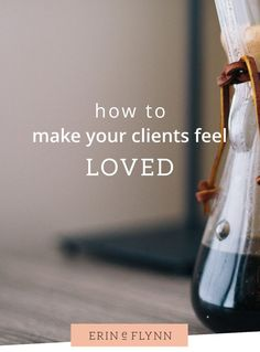 How to thank your clients