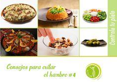Consejos para evitar el hambre #4. #NutricionistaLima