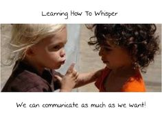Classroom Management ~ The 12 inch whisper