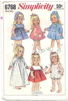Doll Patterns, Doll Clothes Patterns to Sew