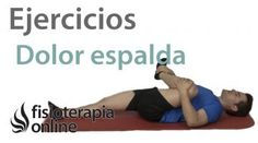 Rutina de ejercicios para el dolor de espalda Gym Equipment, Back Pain Exercises, Routine, Workout Equipment