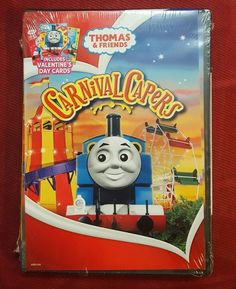 Thomas & Friends: Carnival Capers [With 3 Valentine's Day Car DVD Region 1, NTSC