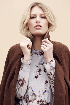 Iconic British style is given an autumnal overhaul in a tonal palette of rich indigo and conker brown. From Best of British.  M&S AW15.