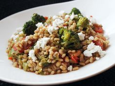 Skillet Suppers: Barley with Broccoli, Feta and Tomatoes