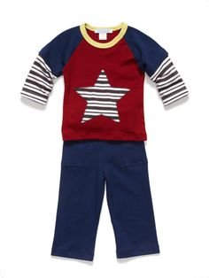 CUTE!  Star Tee & Pant Set by Scout & Adler at Gilt