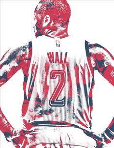 John Wall Washington Wizards Pixel Art 36 Art Print by Joe Hamilton. All prints are professionally printed, packaged, and shipped within 3 - 4 business days. Joe Hamilton, John Wall, Washington Wizards, Thing 1, Nba Playoffs, Dream Team, All Art, Pixel Art, Fine Art America