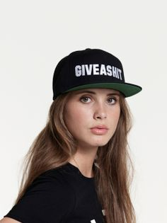 """""""GiveAShit"""" Fitted Cap. 