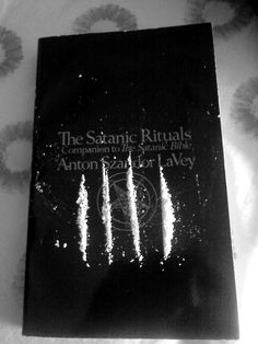 Satanic Rituals w/ treat - HA!  I think just about everyone has done this at some point ;)