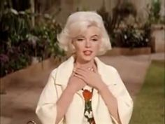 Marilyn Monroe and Dog in Something's Got to Give