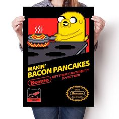 Super Bacon Pancakes - Poster