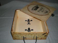 caja decorada interior
