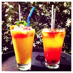 """How about a """"Mango Dream"""" or """" Pineapple Sunset"""" smoothie cocktail to kickstart yet another fabulous summer holiday week here in #Santorini? Cheers from Astro Palace Hotel & Suites in Fira, Santorini - Greece!"""
