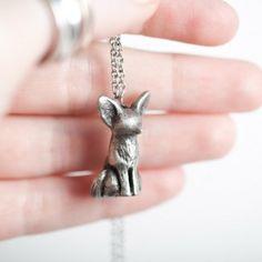 Handmade Gifts | Independent Design | Vintage Goods Fennec Fox Necklace - SHIPS 3/22 - New Arrivals