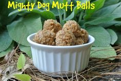 Looking for a healthy, energy-packed treat made from the super food quinoa Then try this recipe for Mighty Dog Quinoa Balls from the Canine Chef Cookbook! It's quick and easy to make less than 30 minutes of prep time and will create enough treats to last your dog for weeks!