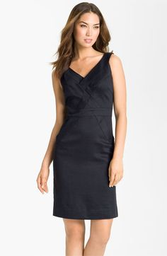 Milly Basketweave Sleeveless Sheath Dress available at Nordstrom