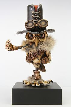 Steampunk Fiction | Playful Steampunk Sculptures – Fubiz™