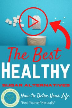 The Best Healthy Sugar Alternatives - 3 Natural and Healthy Sugar Alternatives. #tipsforhealingnaturally #eatforhealthybody Healthy Eating Habits, Healthy Living, Healthy Sugar Alternatives, Detox Diet For Weight Loss, Getting Rid Of Bloating, Expired Food, Detox Juice Recipes, Social Well Being, Sugar Detox