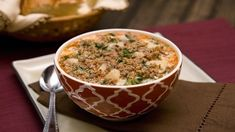 Take a trip to Italy when you take your first bite of this delicious soup. Fill with bites of potatoes and sausage, this dish is everything you could want from a warming, filling soup.