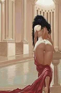 Bathing Beauty- Frans Mensink