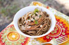 Nutty Black Bean Sriracha Noodles