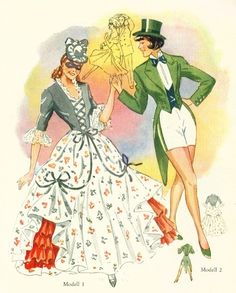 Vintage 50s costumes