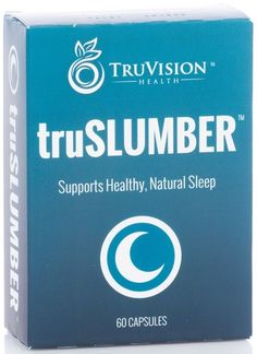 TruSlumber by TruVision Health encourages a good night's rest that will allow you to begin the new day wit renewed focus and energy. With NO ingredients that may cause addiction or harmful side effects, you can rest easy with TruSlumber! www.SlenderSuzie.com