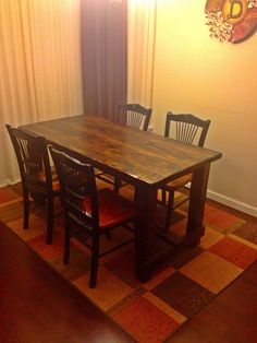 Wonderful 3x5 Farmhouse Table #farmhousetable #texasfurniturebuilders