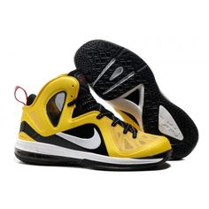 new product a5ed8 56485 516958-700 Nike LeBron 9 P.S.Elite Varsity Maize Black White G06032 Lebron  Shoes For