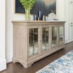 Stormy Blues Framed (Glitter) - Matters of Estate - Dining Room - Room Ideas Dining Room Buffet, Dining Room Walls, Dining Room Design, Dining Room Furniture, Glitter Room, Glitter Hair, Muebles Living, Contemporary Furniture, Home Furnishings