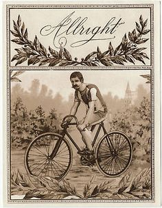Bicycle-Champ-on-Early-1870-s-Original-Antique-Cigar-Box-Label-Art