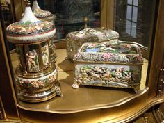 Music Boxes From Italy