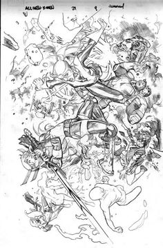All New X-Men 29 interior art by Stuart Immonen