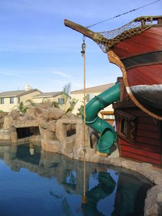 Pirate Ship Pool I Need One Of These In My Back Yard