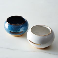 Egg Separator -- not really necessary but that blue is so pretty!