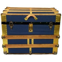 Cool #2 I pinned this Mr. Jones Trunk from the Antiques Market event at Joss and Main!