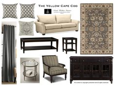 The Yellow Cape Cod: Mixing Patterns~A Hint About My Big Secret