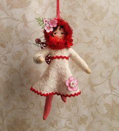 Cotton Sprite: Red sprite Ruby on Etsy, $25.00