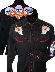 Rockmount Western Cowboy Snap Shirt Retro by JLazyARanchwear