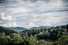 Beautiful natural in Mon Cham (Mon Jam) mountain, Mae Rim, famous travel location in chiangmai, Thailand. royalty-free stock photo