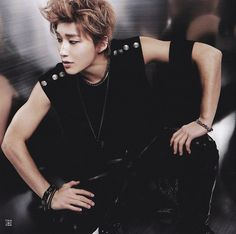 He's so attractive that sometimes I have to remember to breathe while oggling at a picture of Jongup.