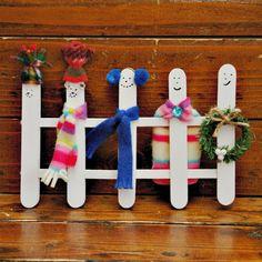 Muñecos-de-nieve-con-palitos-de-Helado